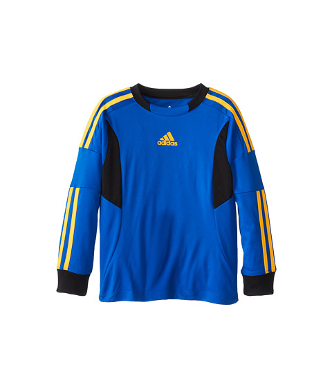adidas Kids - Clima Soccer Jersey (Toddler/Little Kids) (Super Blue) Boy's Short Sleeve Pullover