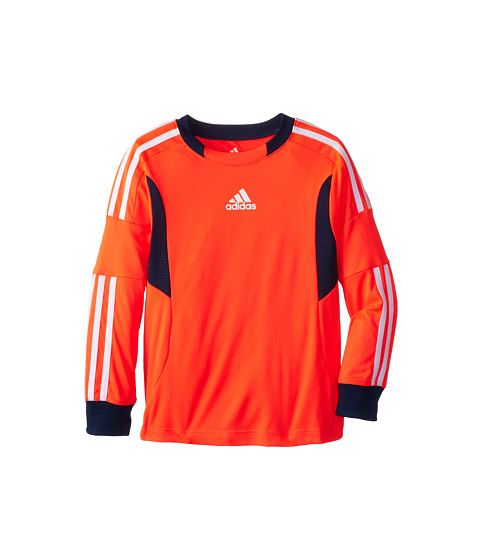 adidas Kids - Clima Soccer Jersey (Toddler/Little Kids) (Solar Red) Boy
