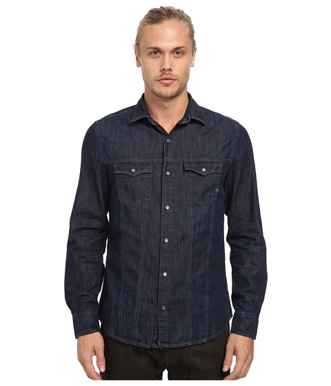 Mavi Jeans - Teo Denim Shirt in Rinse (Rinse) Men's Long Sleeve Button Up