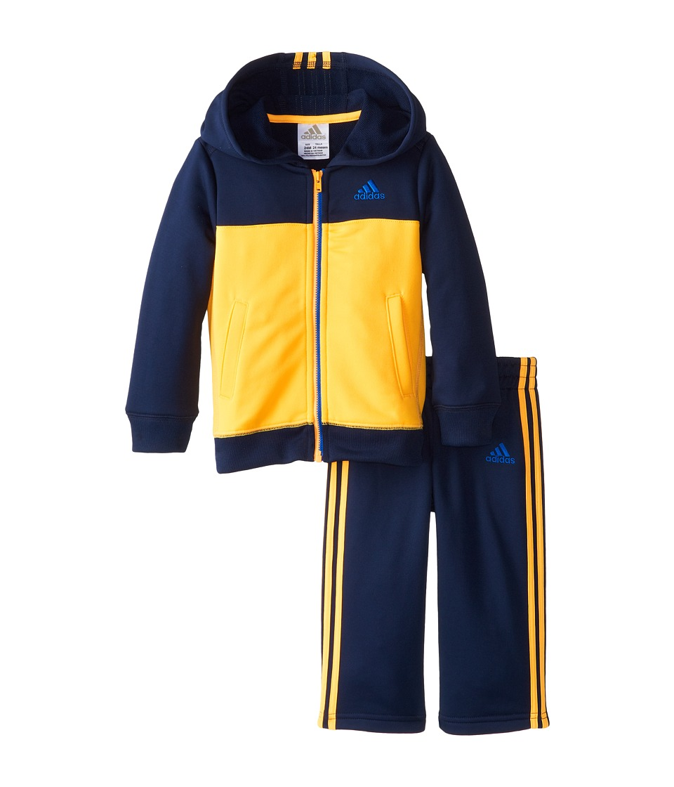 adidas Kids - Climawarm Block Set (Infant) (Solar Gold) Boy's Active Sets