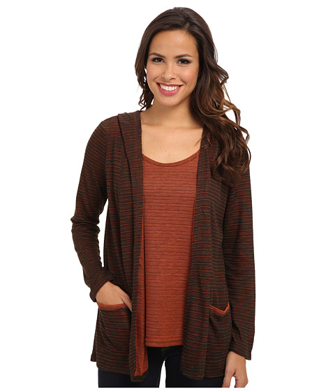Miraclebody Jeans - Robyn Twin Set - Tank and Hooded Cardigan (Chocolate) Women
