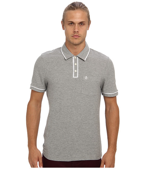 Original Penguin - Earl Polo (Rain Heather) Men