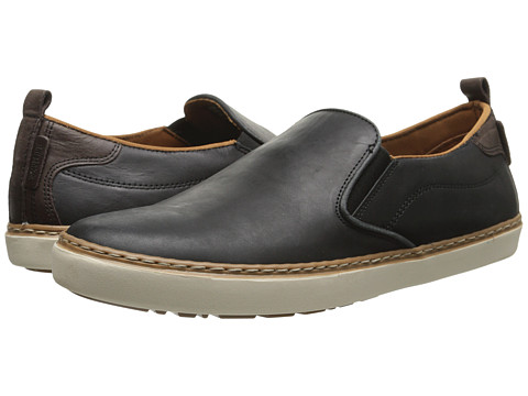 Wolverine - Ronaldo (Black) Men's Slip on Shoes