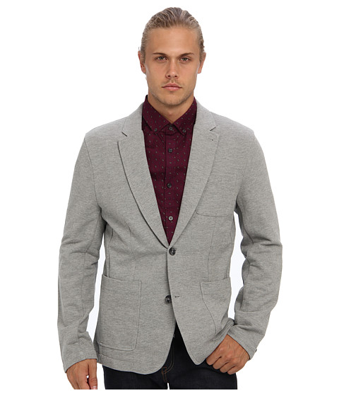 Original Penguin - Knit Blazer (Rain Heather) Men's Jacket