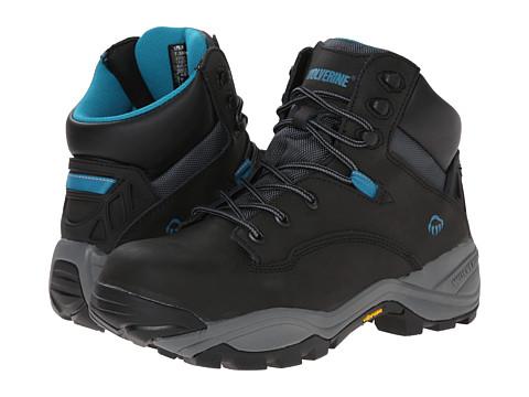 Wolverine - Growler CT (Black/Aqua) Women's Boots
