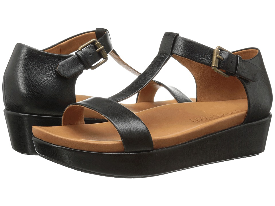 Gentle Souls - Janelle (Black) Women's Wedge Shoes