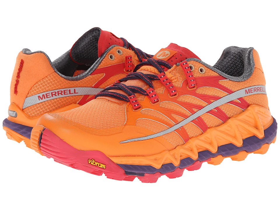 Merrell - All Out Peak (Orange/Parachute Purple) Women's Shoes