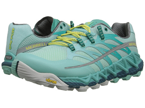 Merrell - All Out Peak (Adventurine/Sea Blue) Women