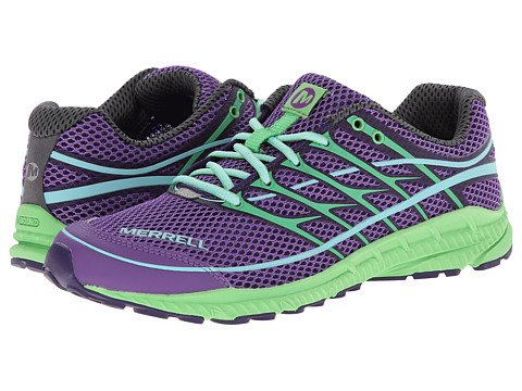 Merrell - Mix Master Move Glide 2 (Royal Lilac/Bright Green) Women