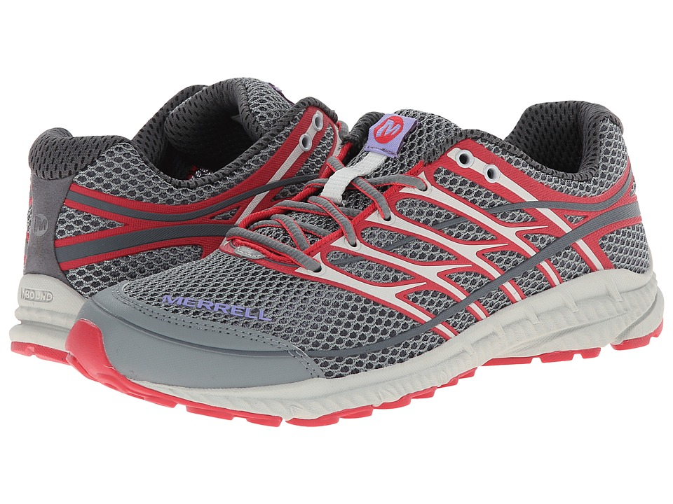 Merrell - Mix Master Move Glide 2 (Grey/Geranium) Women's Shoes