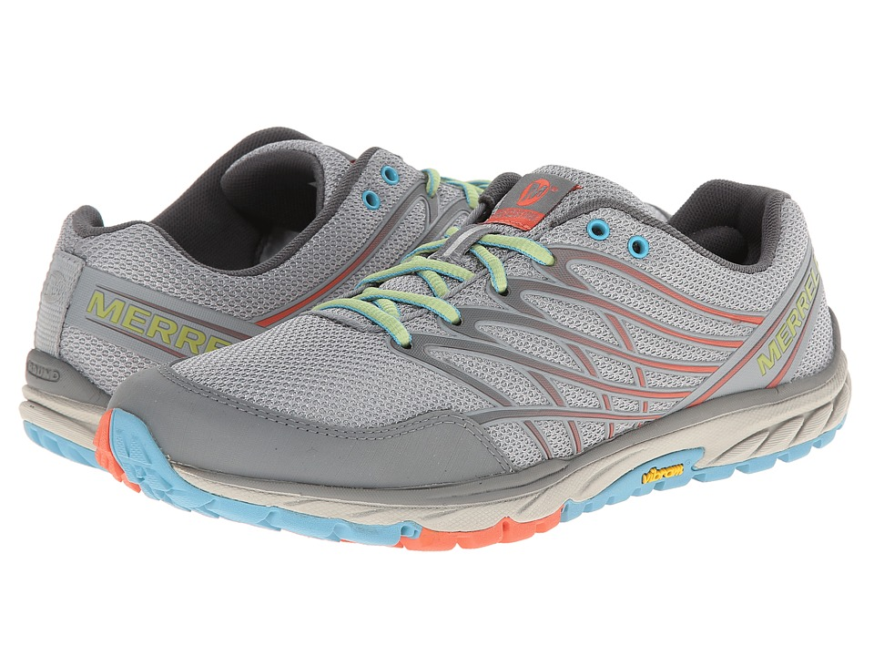 Merrell - Bare Access Trail (Light Grey/Coral) Women