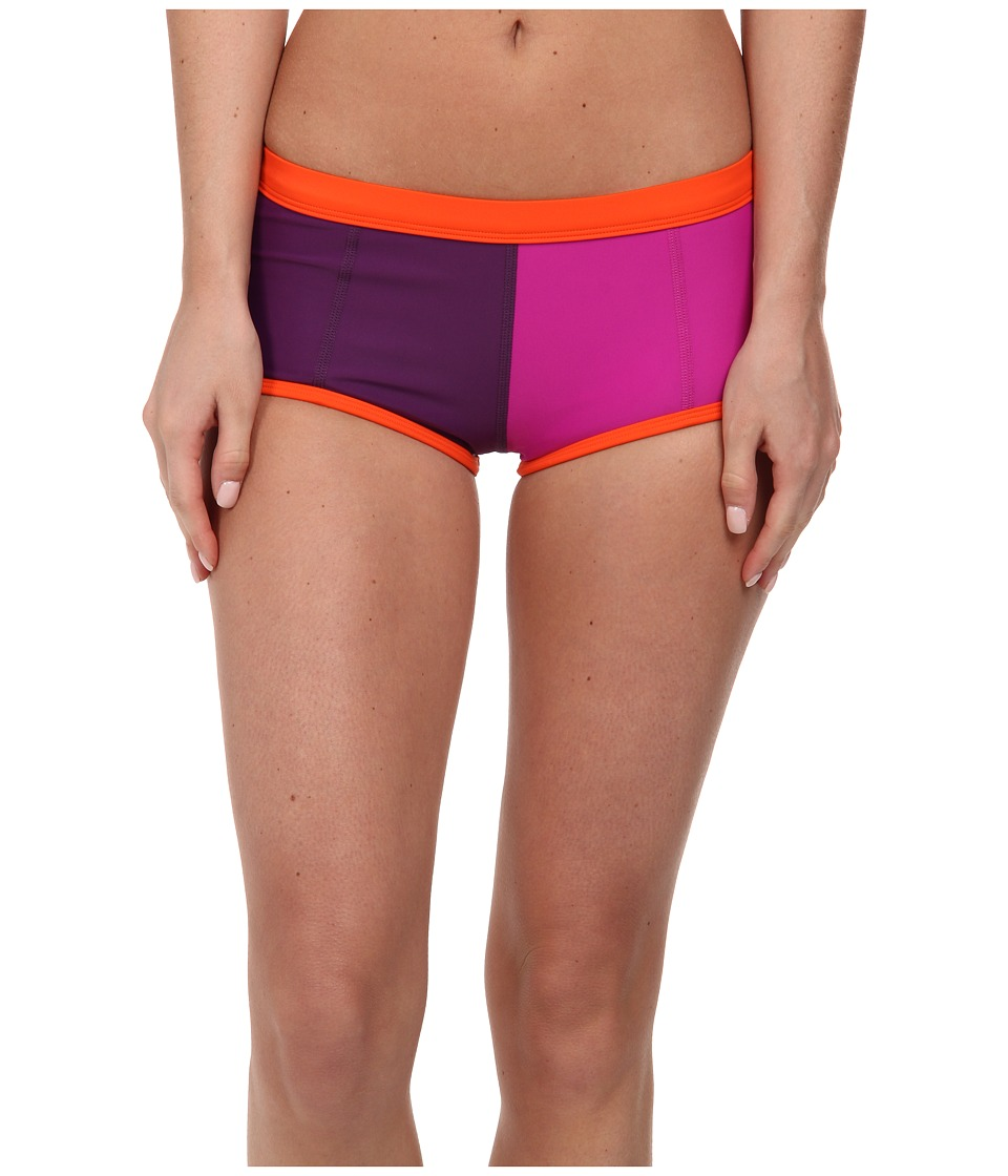 Roxy Outdoor - Go Shortie Swim Bottom (Blackberry) Women's Shorts