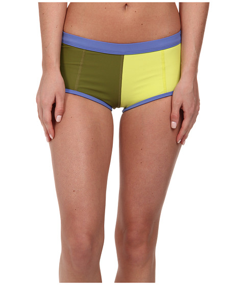 Roxy Outdoor - Go Shortie Swim Bottom (Avocado) Women's Shorts