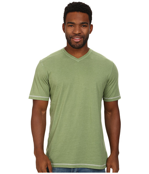 Ecoths - McKinney V-Neck Tee (Green Eyes) Men