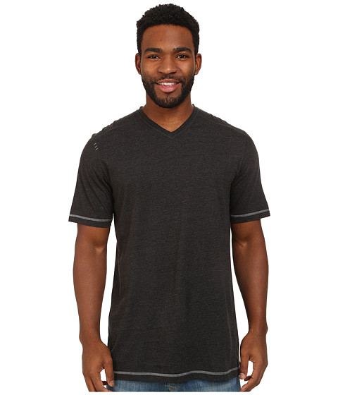 Ecoths - McKinney V-Neck Tee (Phantom) Men