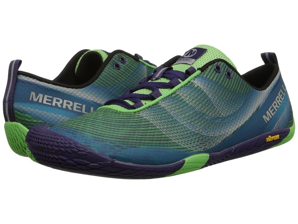Merrell - Vapor Glove 2 (Bright Green/Purple) Women's Shoes