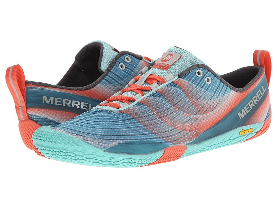 Merrell - Vapor Glove 2 (Sea Blue/Coral) Women's Shoes