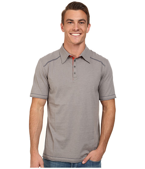Ecoths - Garrick Polo (Frost Grey) Men's Short Sleeve Pullover