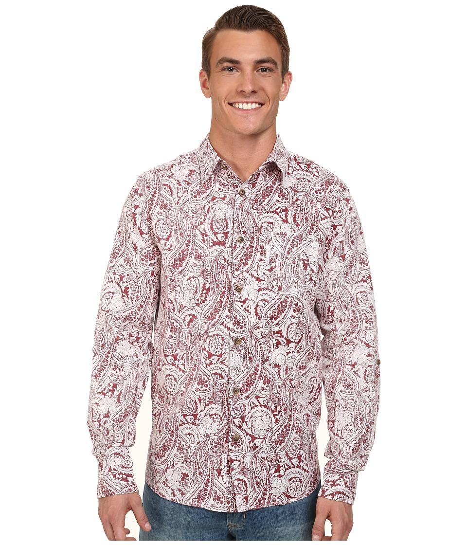 Ecoths - Gulliver L/S Shirt (Brick Red) Men