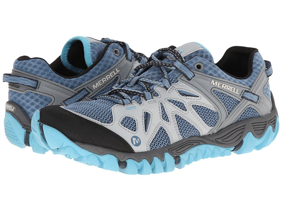Merrell - All Out Blaze Aero Sport (Blue Heaven) Women's Shoes