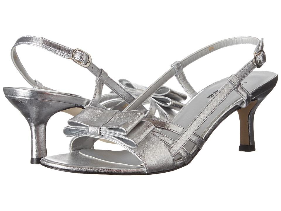 Vaneli - Martey (Silver Met Nappa/Silver Buckle) Women's 1-2 inch heel Shoes