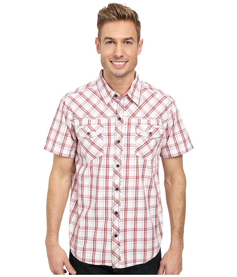 Ecoths - Xavier Shirt (Brick Red) Men