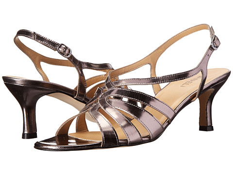 Vaneli - Marza (Gunmetal Specchio/Gunmetal Buckle) Women's 1-2 inch heel Shoes