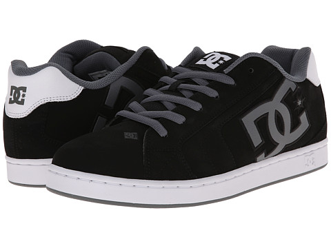 DC - Net (Black/White/Grey) Men