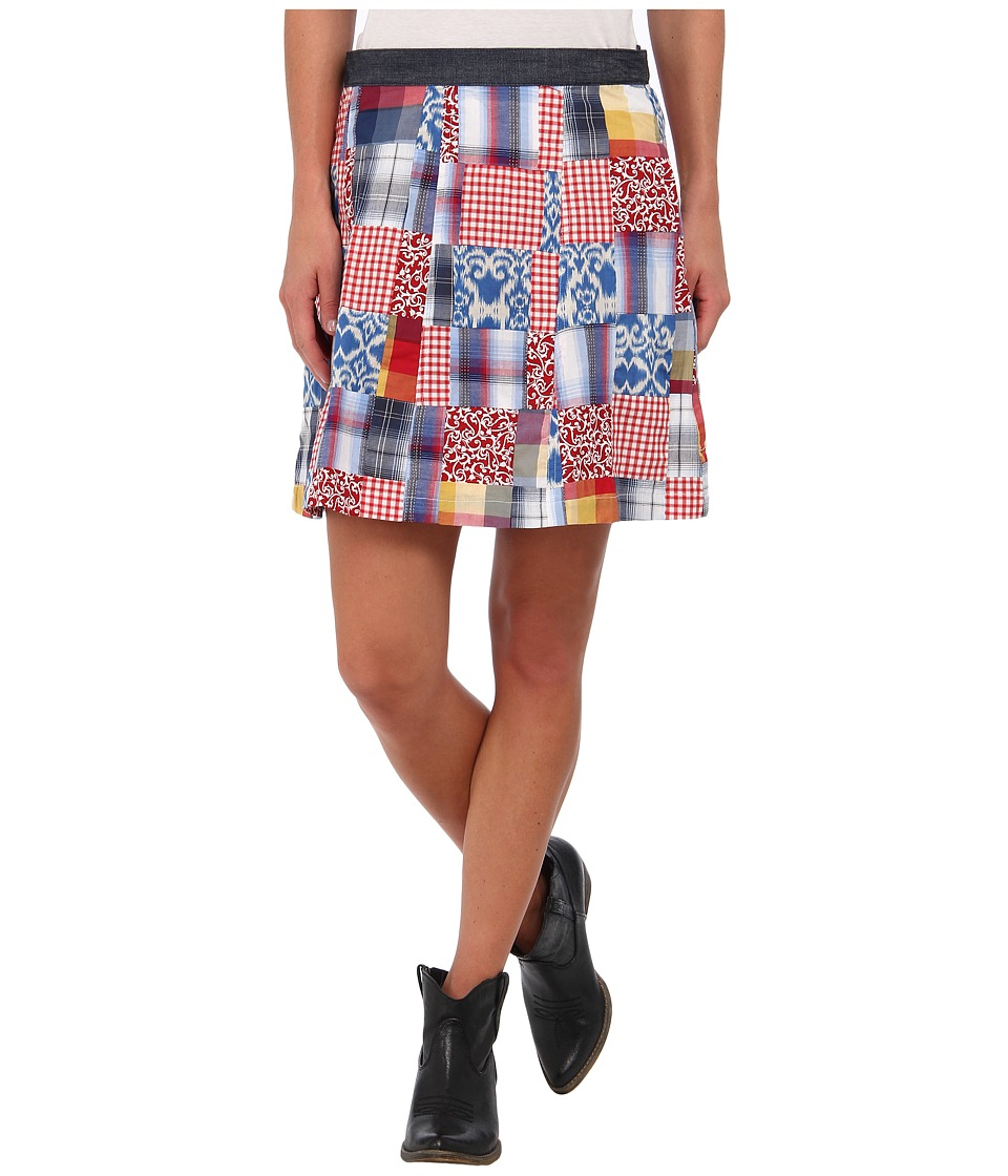 Stetson - 9142 Patchwork Skirt (Multi) Women
