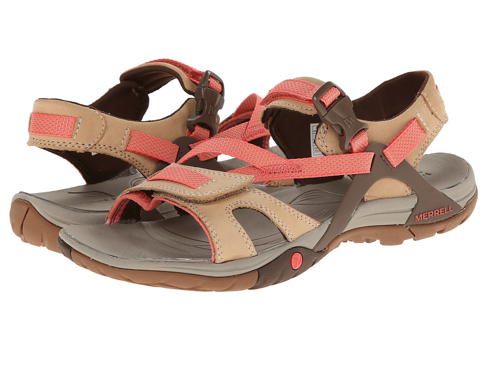 Merrell - Azura Strap (Tan) Women's Shoes