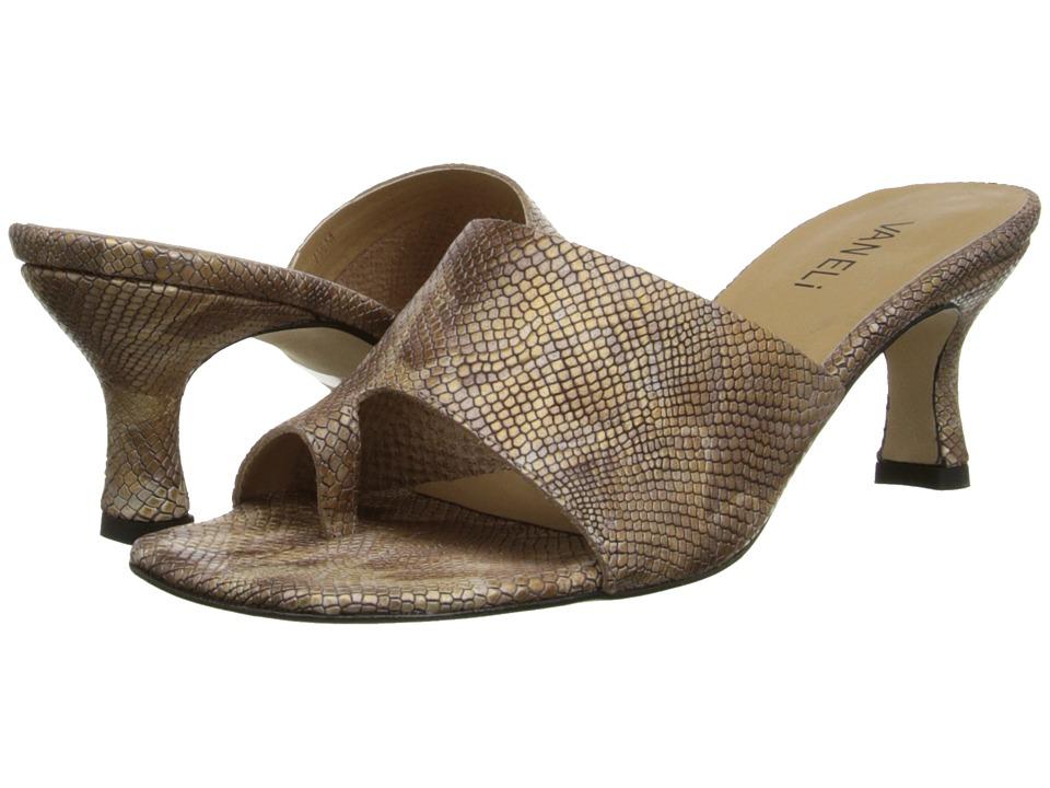 Vaneli - Melea (Camel Darry Print) High Heels