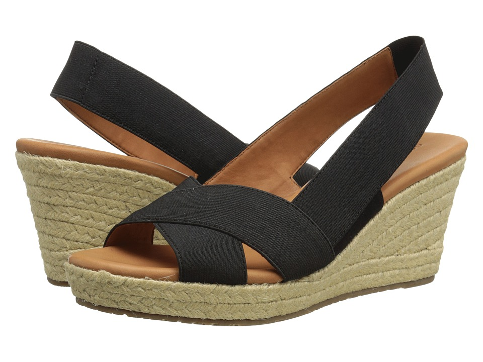 Gentle Souls - Kendal (Black) Women's Wedge Shoes