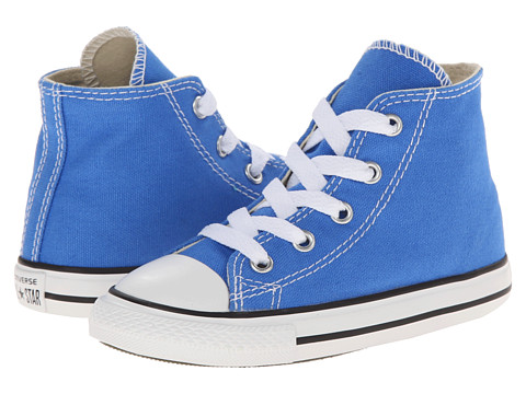 Converse Kids - Chuck Taylor All Star Hi (Infant/Toddler) (Light Sapphire) Kids Shoes