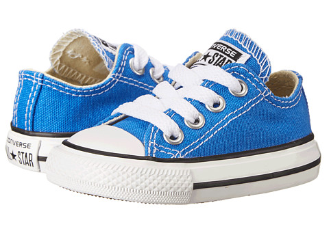 Converse Kids - Chuck Taylor All Star Ox (Infant/Toddler) (Light Sapphire) Kids Shoes