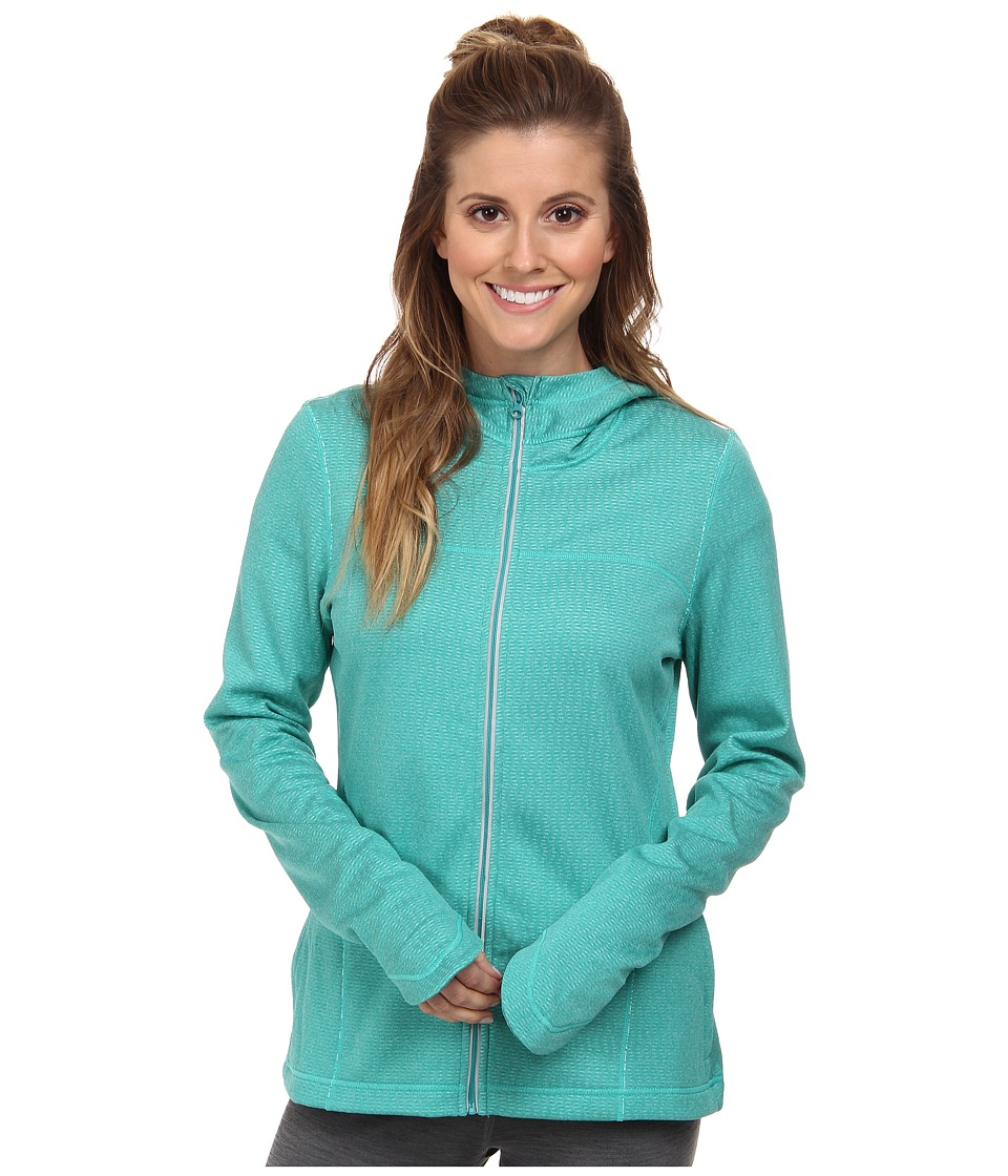 Prana - Paisley Jacket (Sea Green) Women