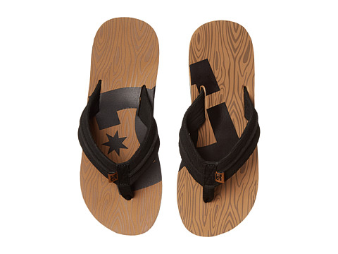 DC - Central Graffik (Wood) Men's Sandals
