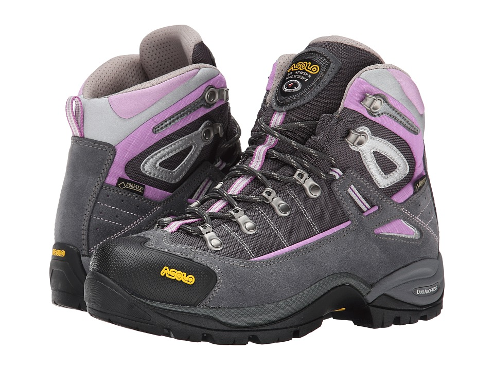 Asolo - Futura GTX (Grey/Orchidea) Women's Hiking Boots