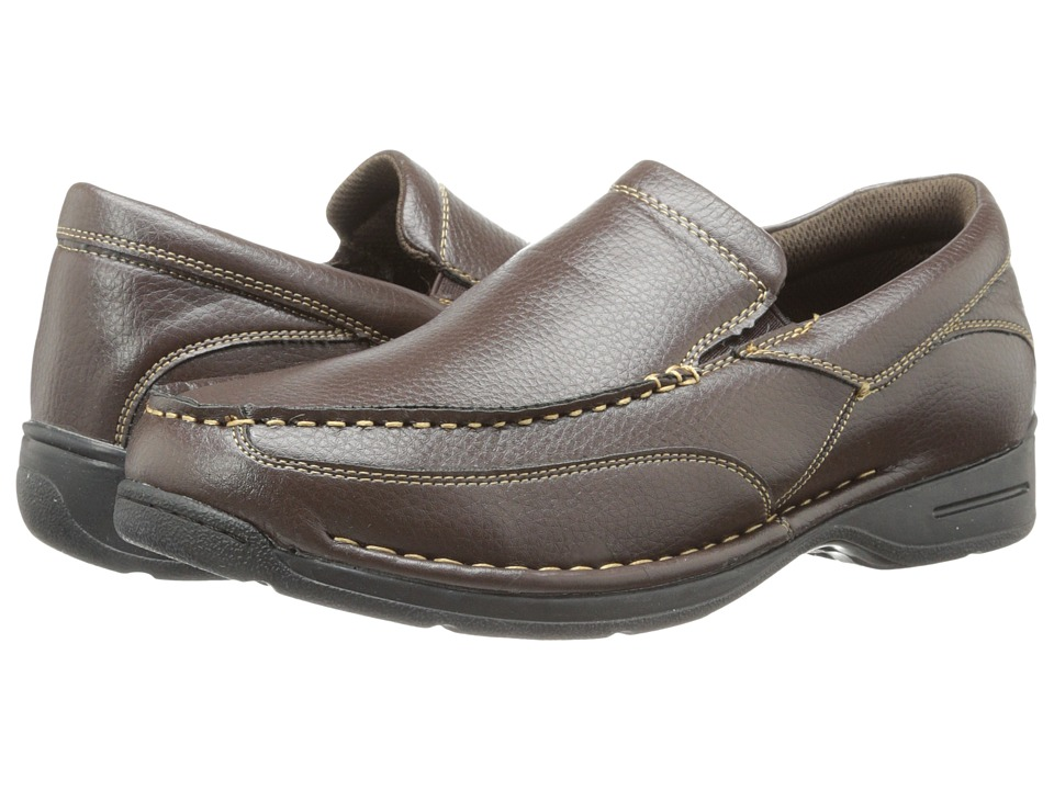 Deer Stags - Bound (Dark Brown) Men's Slip on Shoes