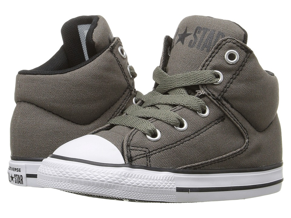 Converse Kids - Chuck Taylor(r) All Star(r) High Street Hi (Infant/Toddler) (Charcoal) Boys Shoes