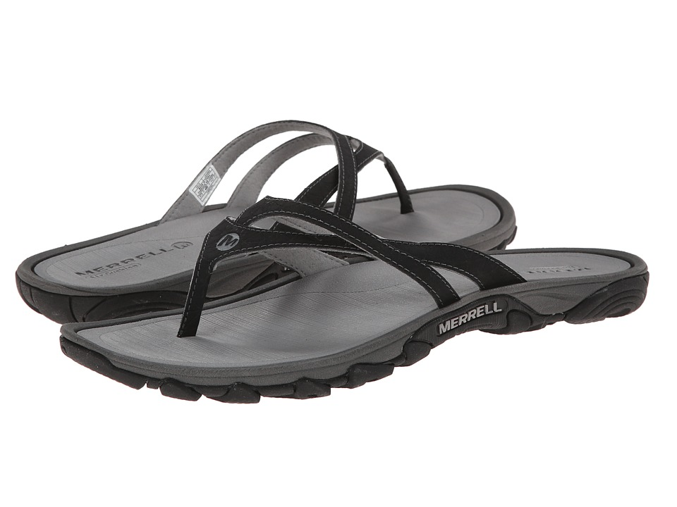 Merrell - Enoki Flip (Black) Women's Sandals