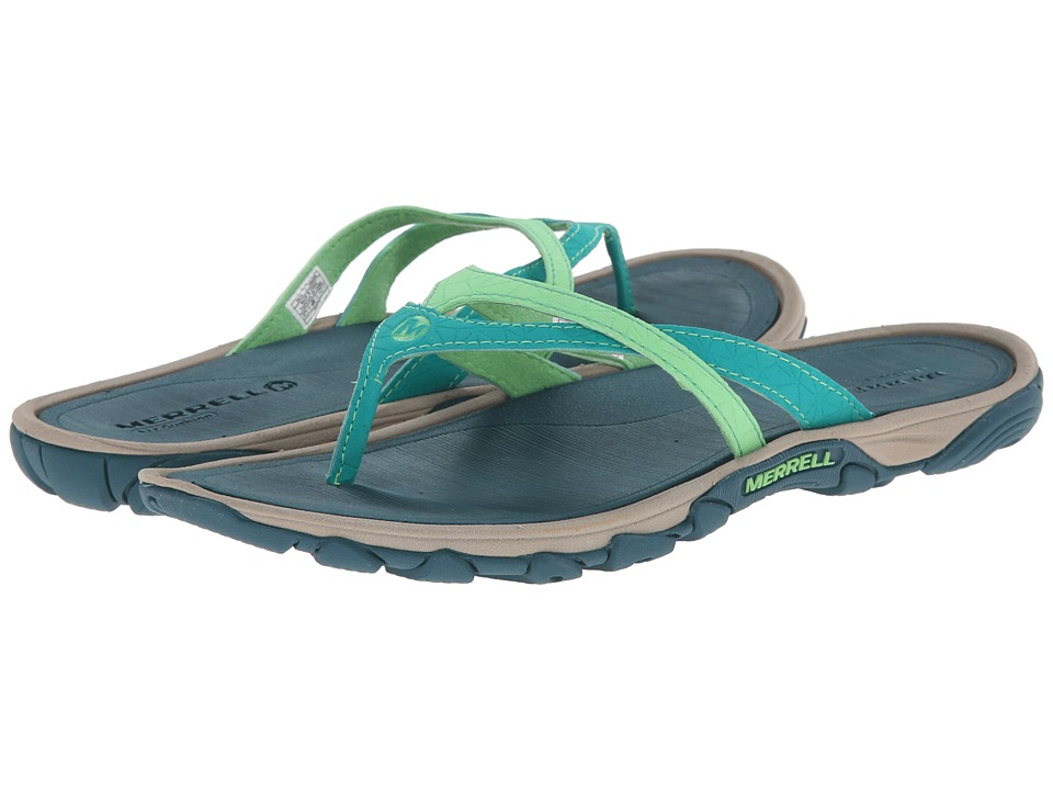 Merrell - Enoki Flip (Dynasty Green) Women's Sandals