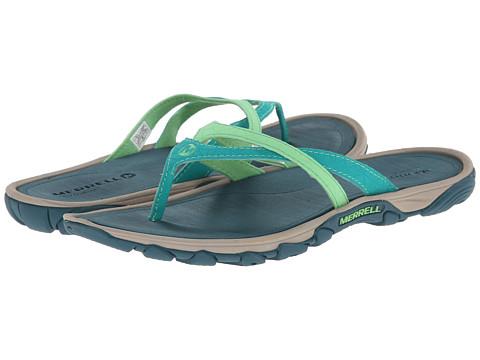 Merrell - Enoki Flip (Dynasty Green) Women's Sandals
