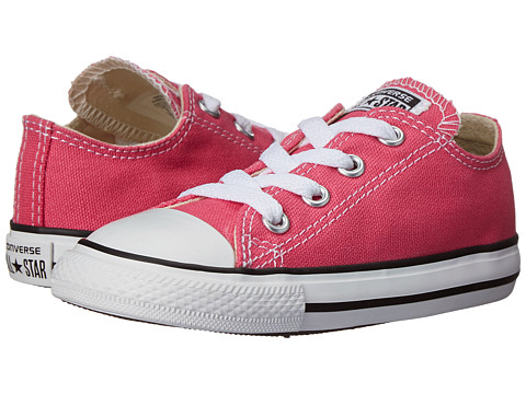 Converse Kids - Chuck Taylor All Star Ox (Infant/Toddler) (Pink Paper) Girls Shoes