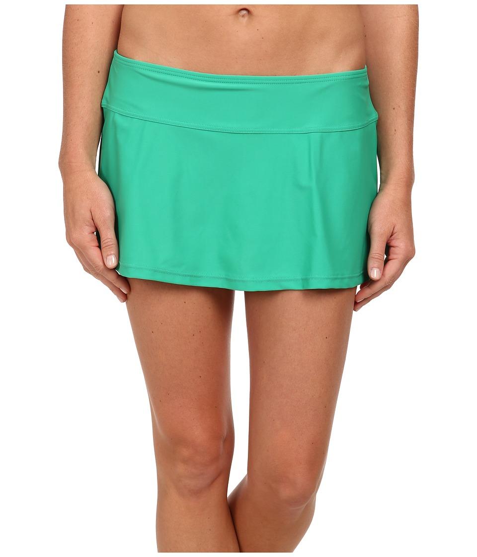 Prana - Sakti Swim Skirt (Cool Green) Women's Swimwear