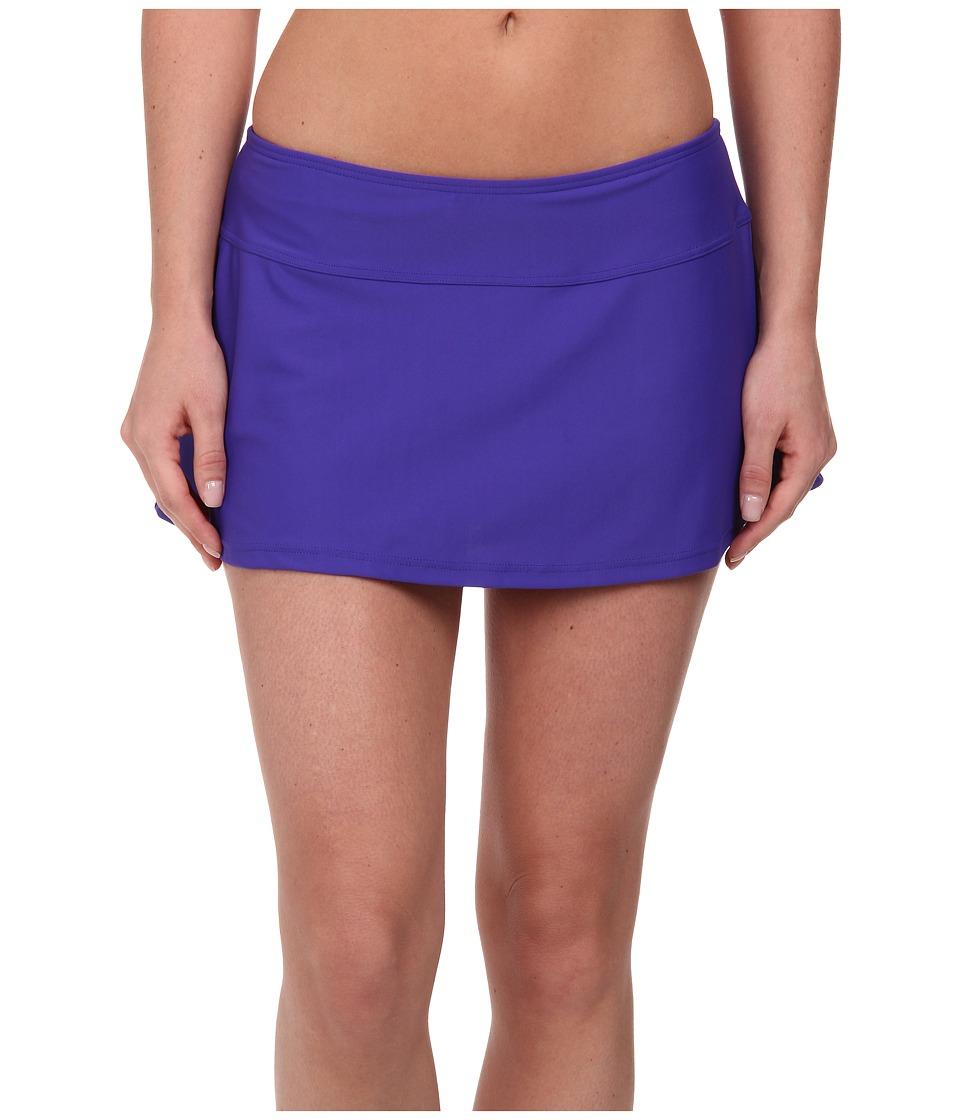 Prana - Sakti Swim Skirt (Sail Blue) Women's Swimwear