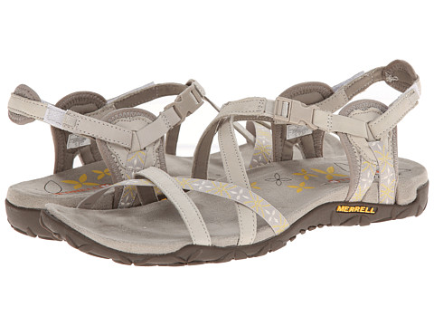 Merrell - Terran Lattice (Silver Lining) Women's Sandals