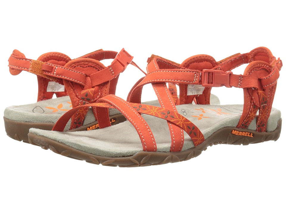 Merrell - Terran Lattice (Red Clay) Women's Sandals