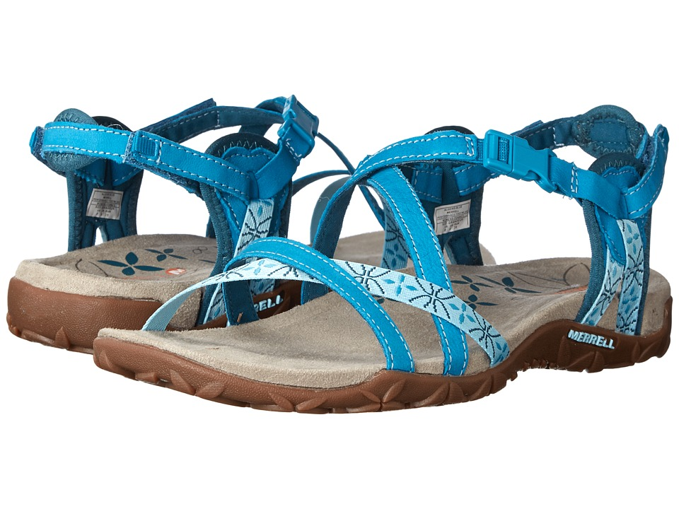Merrell - Terran Lattice (Algiers Blue) Women's Sandals
