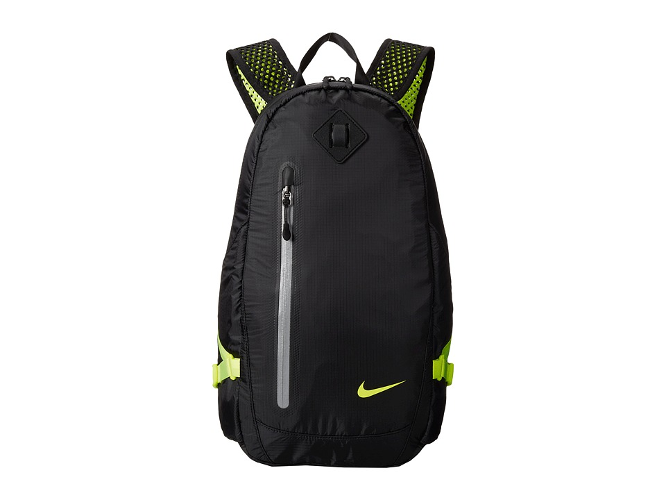 Nike - Vapor Lite Backpack (Black/Volt/Volt) Backpack Bags