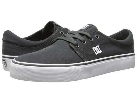 DC - Trase TX (Light Grey) Women's Skate Shoes